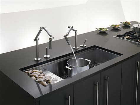 Stages 45 Inch Under Mount Kitchen Sink   K 3761   KOHLER