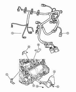 2005 Dodge Neon Wiring  Engine