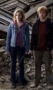 Ron Weasley and Hermione Granger, Harry Potter from The 59 ...