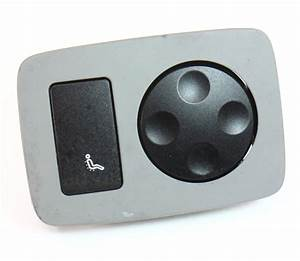 Rh Rear Seat Control Switches Buttons 04-06 Vw Phaeton - Genuine