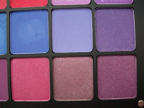 maz makeup inglot purple pink red freedom eyeshadow