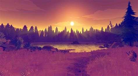 hd firewatch game wallpapers