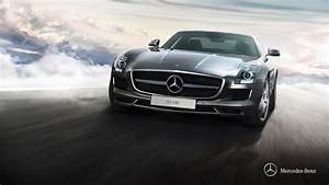 Mercedes Benz Sls Amg wallpaper - 617412