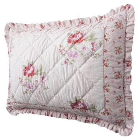 simply shabby chic stitch quilt simply shabby chic mayberry rose full queen quilt set ebay