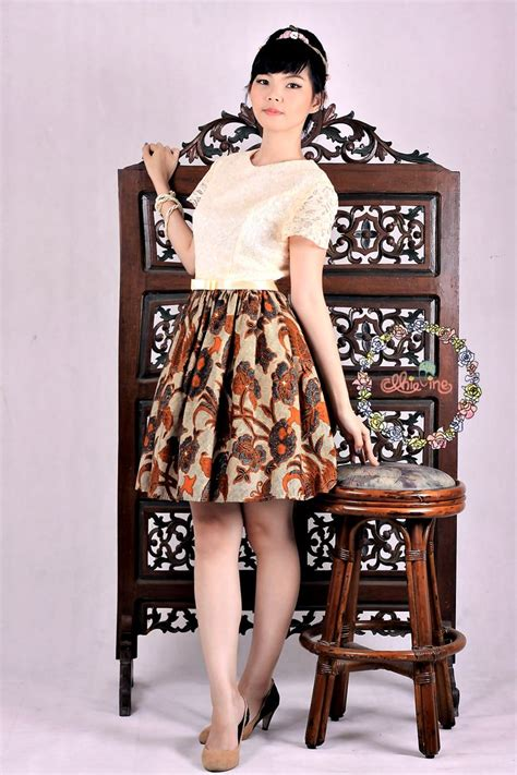 dress batik images  pinterest indonesia