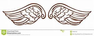 Wings clipart easy - Pencil and in color wings clipart easy