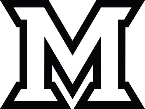 Black And White M Logo Pictures To Pin On Pinterest