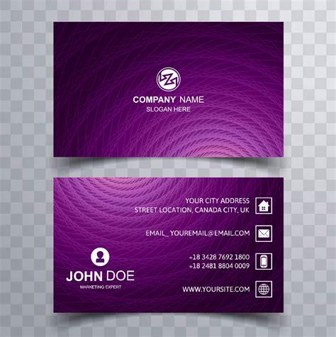 elegant business card background vector