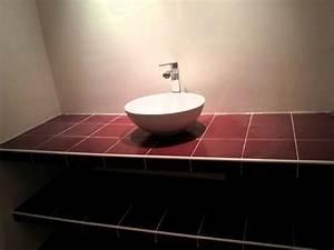 Salle De Bain Plan De Travail : plan de travail salle de bain anthracite ~ Melissatoandfro.com Idées de Décoration