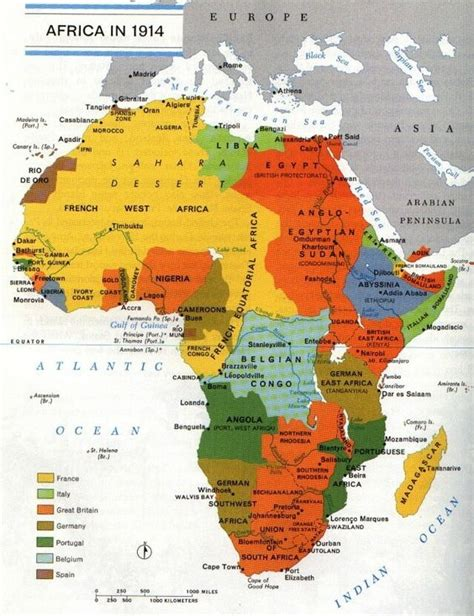 How Many European Countries Held African Colonies By 1914
