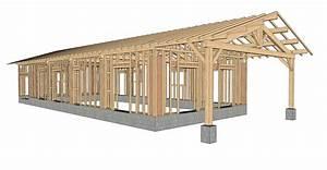 Plan Maison Gratuit En Ligne : modele maison ossature bois plain pied ps61 jornalagora ~ Premium-room.com Idées de Décoration