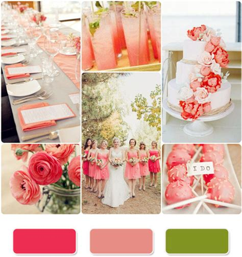 Coral Color Decorations For Wedding by Top 10 Coral Wedding Invitations