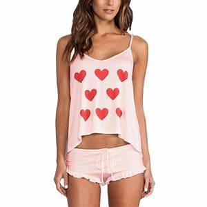 2pcs sexy women cotton braces shirtsshorts underwear With robe pour dormir