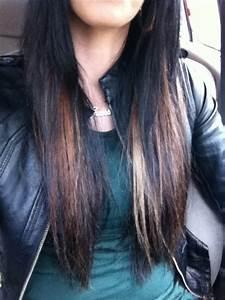 Ombré Hair Rouge : ombr hair acajou sur brune ~ Melissatoandfro.com Idées de Décoration