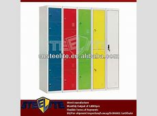 Maize Two Door Slim Electronic Locker Cabinet With Code