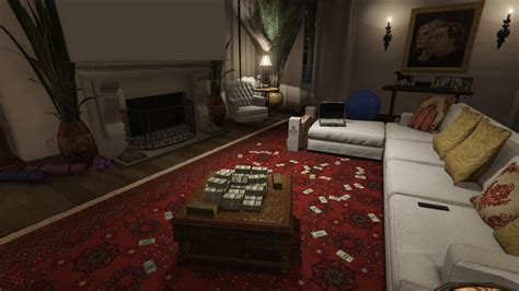 Enhanced Michael House Money Gold Small Parts Map