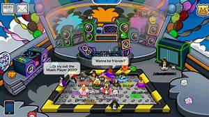 Club Penguin Meeting Dj Cadence U0026 Lolz Her Puffle