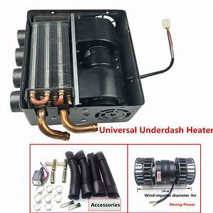 12v Universal Truck Underdash Compact Heater 12pcs Pure