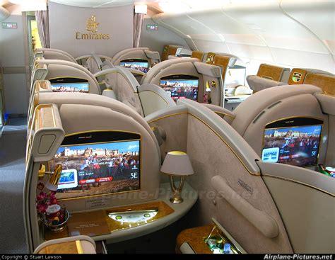 Airlines: emirates airlines interior