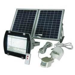 nature power black outdoor solar powered motion activated
