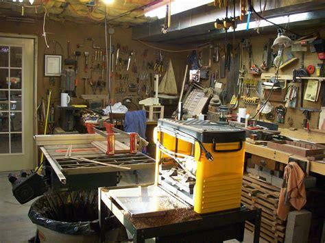 workshop organization basement workshop