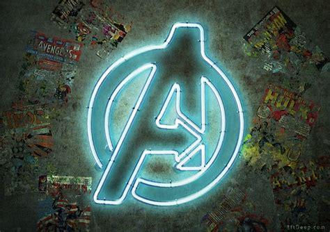 Avengers Neon Sign