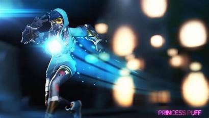 Tracer Overwatch Wallpapers Graffiti Background Desktop Skin