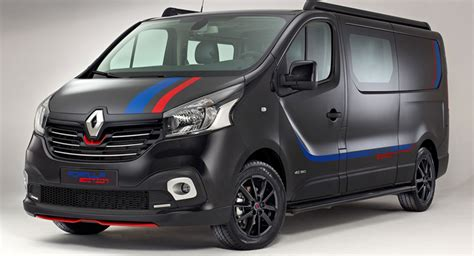 renault vans renault trafic gets sporty quot formula edition quot in the
