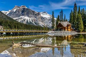 Crystal Clear Reflections, Emerald Lake - Artwork by