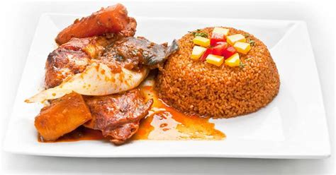 spécialité africaine cuisine repas africain dans un bon restaurant au centre de rennes