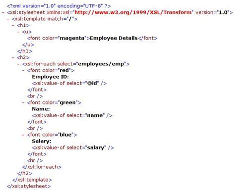Xslt Code Sample Vrjxhaj
