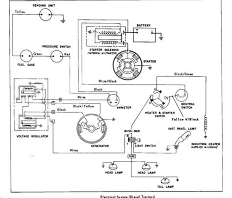 Mf 175 Wiring Diagram by Mf50 Diesel Starting Issue Massey Harris Massey