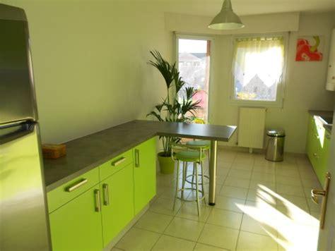 meuble cuisine vert pomme cuisine verte pomme cheap castorama cuisine d u castorama