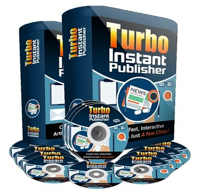 Turbo Instant Niche Templates by Turbo Instant Publisher