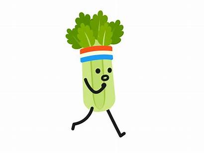 Celery Clipart Animated Shock Vegetable Pickle Nair