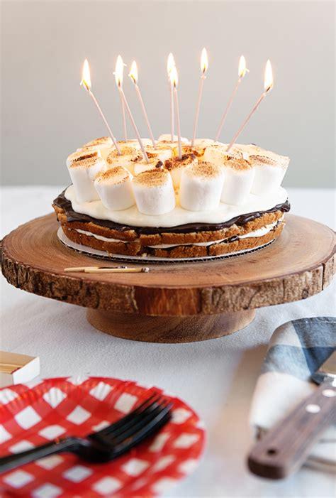 s more cake appleday