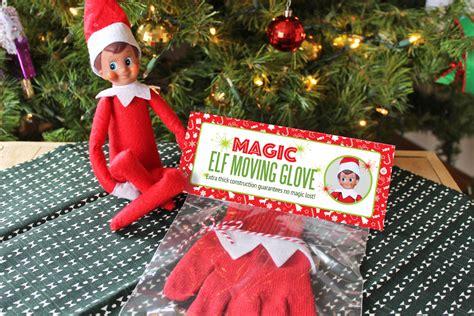 diy magic elf   shelf moving glove