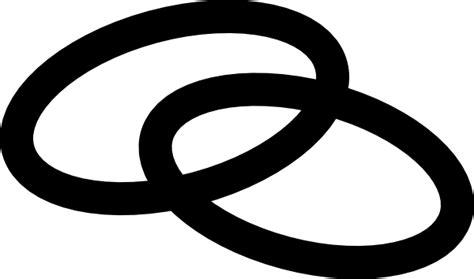 linking rings clip art  clkercom vector clip art