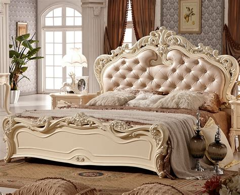 double bed design luxury home  king size soft bed