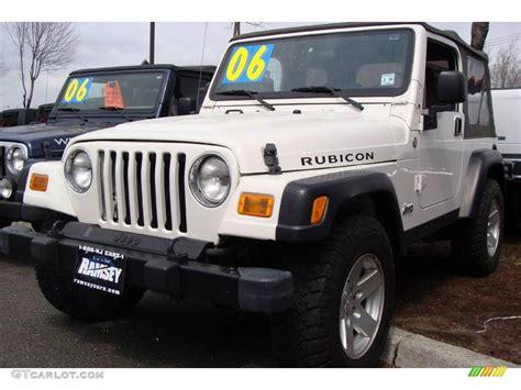 2006 Stone White Jeep Wrangler Rubicon 4x4 #7635144 Photo