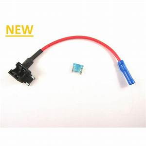 Add A Fuse Circuit  U0026 39 Mini Low Profile Aps U0026 39  Blade Holder Fusebox Connector