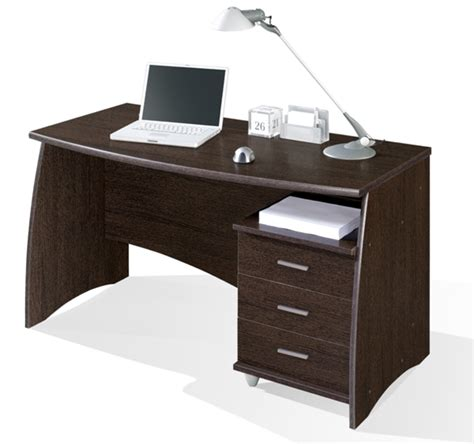 meuble de bureaux bureaux meubles bureau 3 tiroirs 1 porte moneta 2 blanc