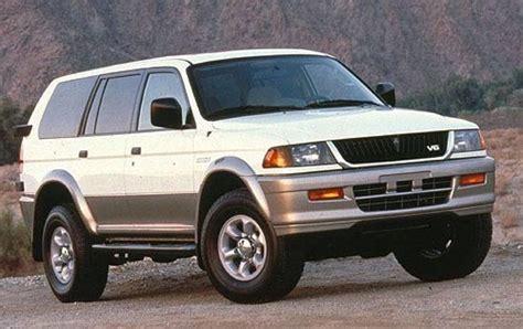 1999 Mitsubishi Montero Sport by 1999 Mitsubishi Montero Sport Information And Photos