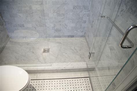 master bath shower floor