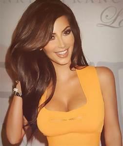 Long brown hair Kim Kardashian | hAiR | Pinterest | Kim ...
