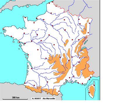 Carte De Fleuves Et Montagnes Vierge by Carte De Muette Avec Fleuves Et Montagnes My
