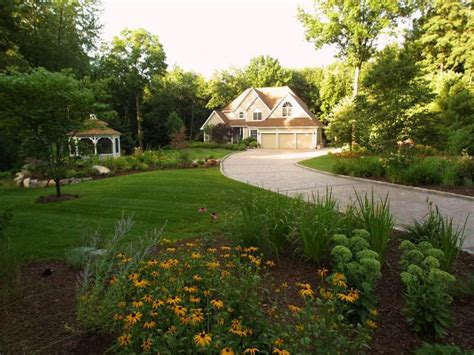 Large Backyard Landscaping - front yard landscaping ideas landscaping network
