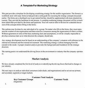 strategic marketing plan template 10 free word pdf With strategic marketing plan template free download