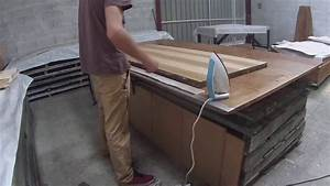 tutoriel renovation d39une porte avec du placage youtube With renover une porte d entree en bois