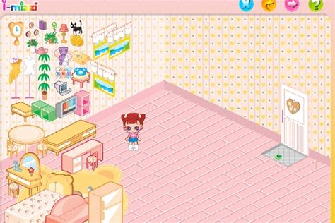 bedroom makeover  game play  decorating games